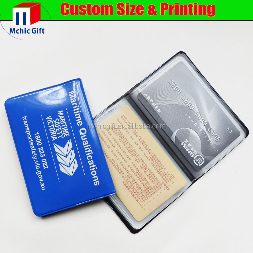 Custom color and print weld soft plastic pvc vinyl business card custom color and print weld soft plastic pvc vinyl business card holder reheart Image collections