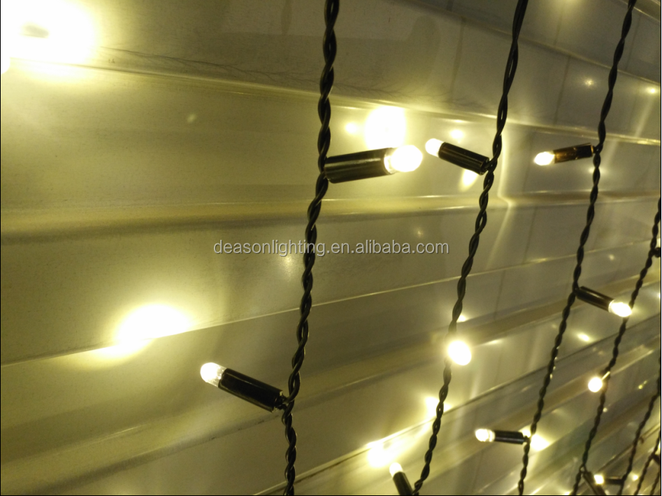 led star curtain/led christmas curtain light/led fairy light curtain