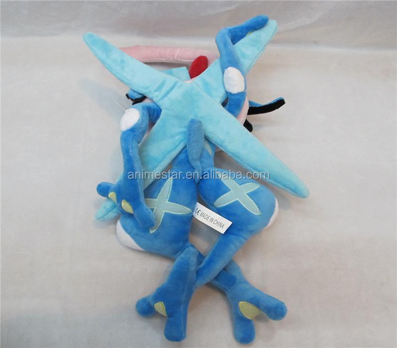 Hot Sale Pokemon Greninja Stuffed Doll Cute Soft Plush Anime Toys 37cm