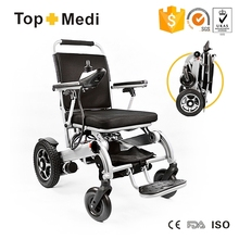 HOT Medical Device Lightweight Folding Automatic Electric Power Wheelchair