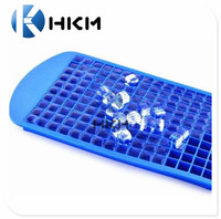 Hot Selling Factory Wholesale Cheap Price 160 Cube Mini Silicone Personalized Ice Cube Tray Mold Mould