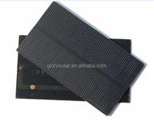 Small Custom 1.2W High Efficiency Solar Panel For Phone Case Samsung