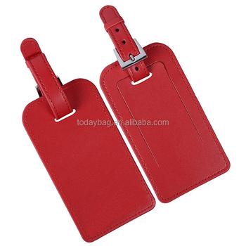 pu leather free printable luggage tag template buy free printable