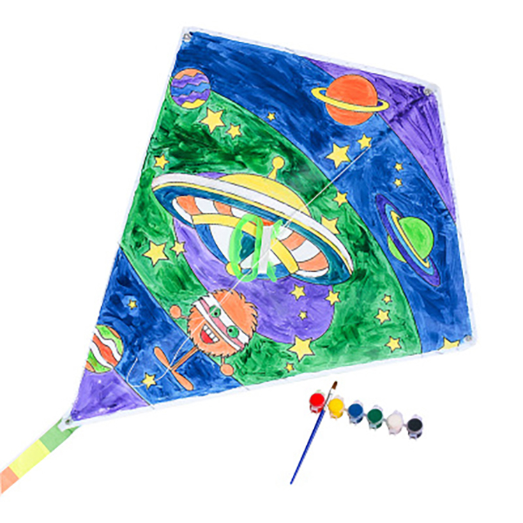 Cartoon gift DIY kids promotional handmade kite
