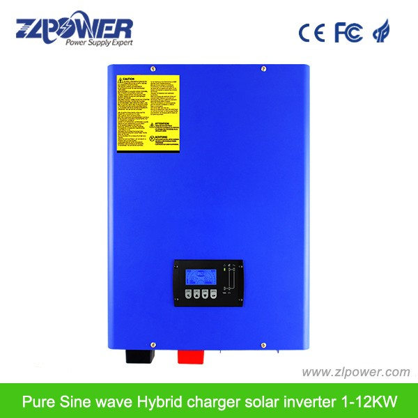 Best Europe Solar Energy Off-grid Hybrid Inverter with MPPT 8000 watt