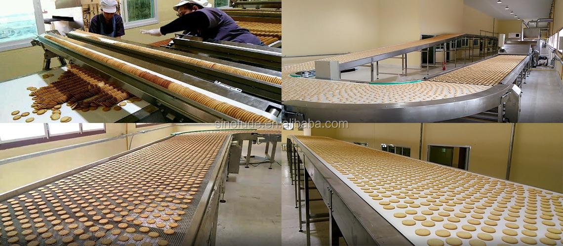 Harde en zachte soda cracker biscuit maken forming machine kleine biscuit productie lijn vorm shanghai