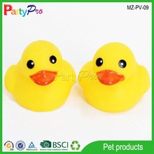 2015 New China Wholesale Rubber Yellow Duck Bath Toy