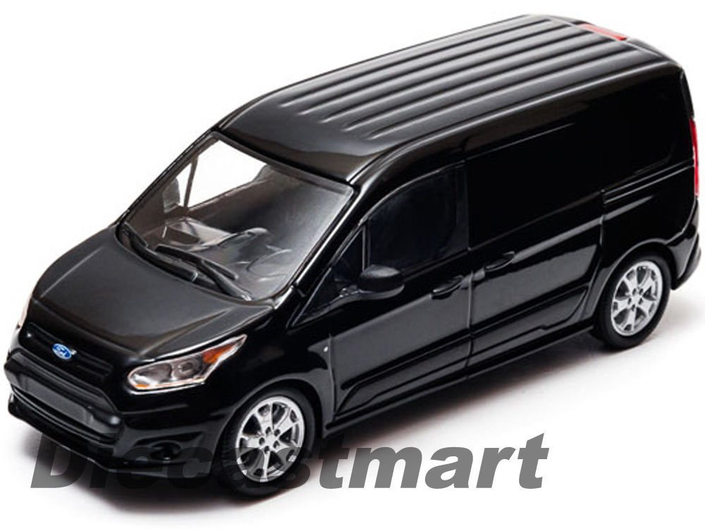 2014 FORD TRANSIT CONNECT (V408) BLACK 1:43 DIECAST MODEL CAR GREENLIGHT 86045