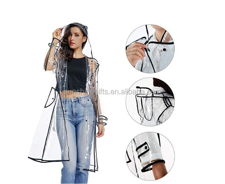 Transparent PVC Raincoat Stories Material Manufacturers