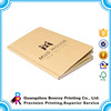 Factory Supply Brown Kraft Flash Memory Notebook With Company Logo