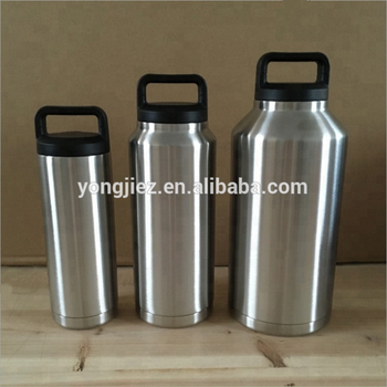 18oz 36oz 64oz Double Wall Stainless Steel Tumbler Vacuum Insulated