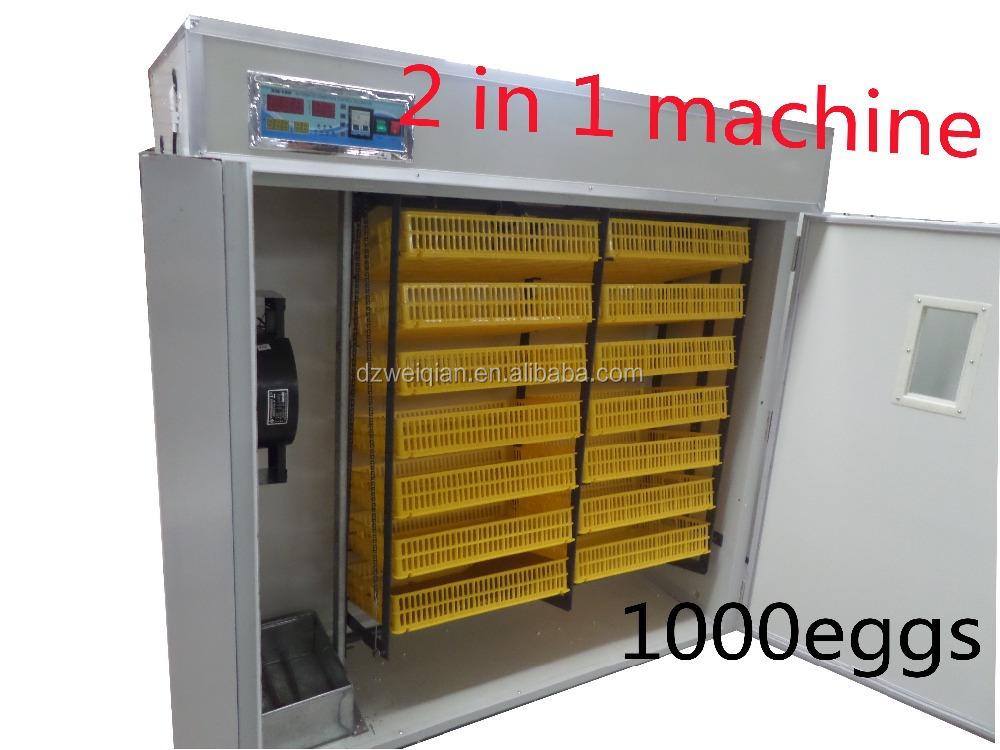 chicken farming fully automatic chicken egg incubator