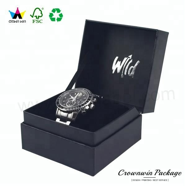 Luxury PU Leather Watch Box Watch Packaging Box Wholesale