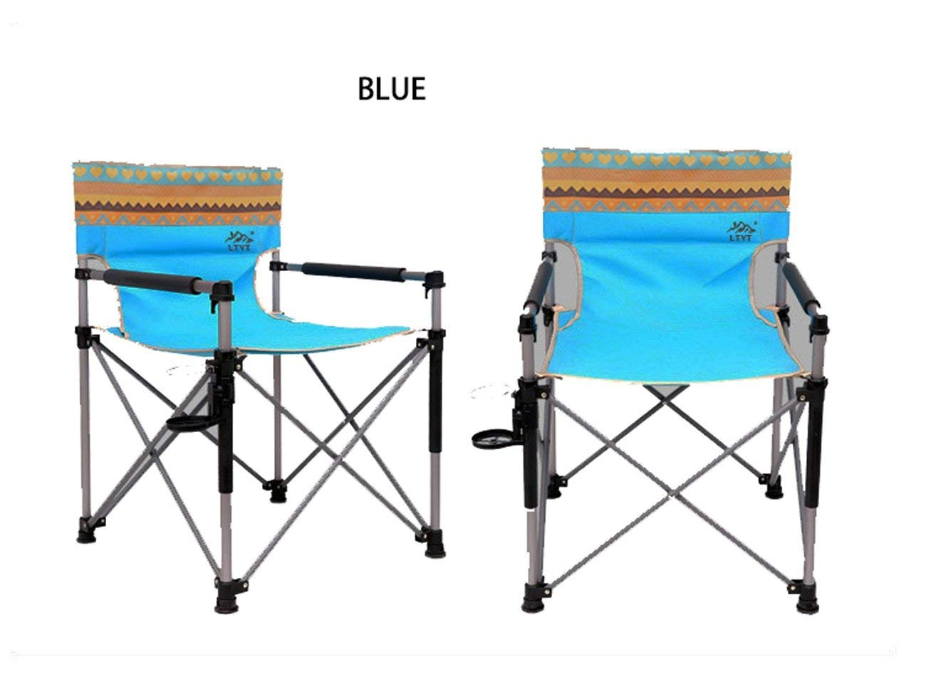 LHFJ Portable Camping Chair lightweight Folding Backpacking Chairs Heavy Duty 130kg For Outdoor Hiking Mountaineering Camping,picnic Etc