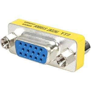 """Startech,.Com Slimline Vga Hd15 Gender Changer Vga Gender Changer Hd-15 (F) Hd-15 (F) """"Product Category: Supplies & Accessories/Network Cabling Accessories"""""""