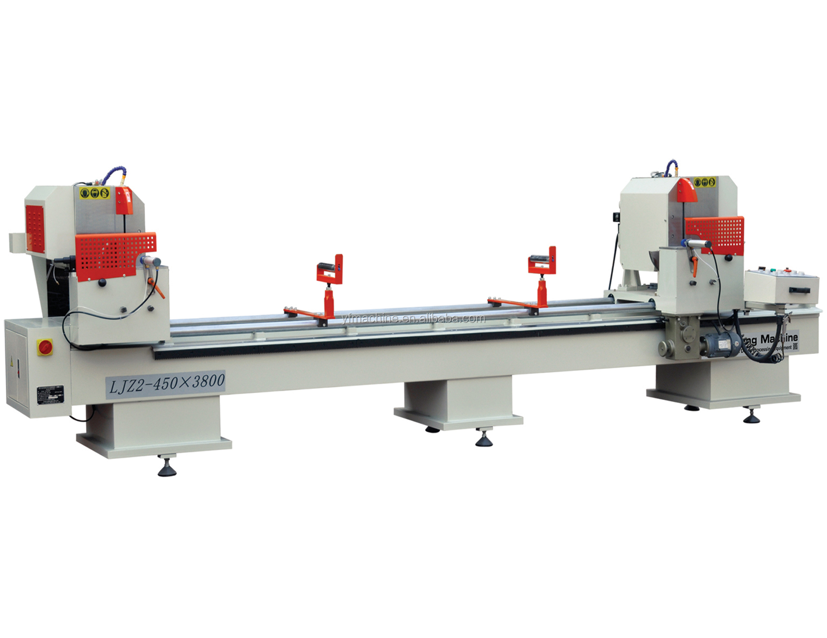 Aluminium Raam Fabricage Machine Dubbele Kop Snijden Zaag