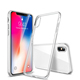 Luxury Crystal Clear Phone Case For iPhone X Case Ultra Slim Soft TPU Cover Coque For iPhone 7 8 Case