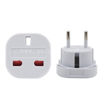 Yuadon travel adapter uk to eu europe european plug adapter YD-9625
