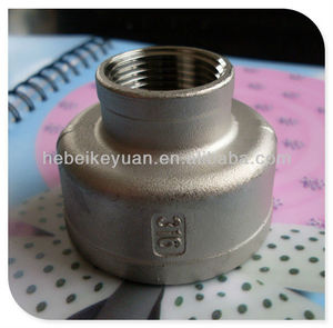 stainless steel 304 NPT thread bell reducers