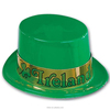 MH-2202 Party Custom logo Green Saint St Patrick Day Derby Bowler Hat