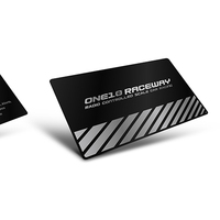 Professional customization eco-friendly black business card metal with printing ,stainless steel