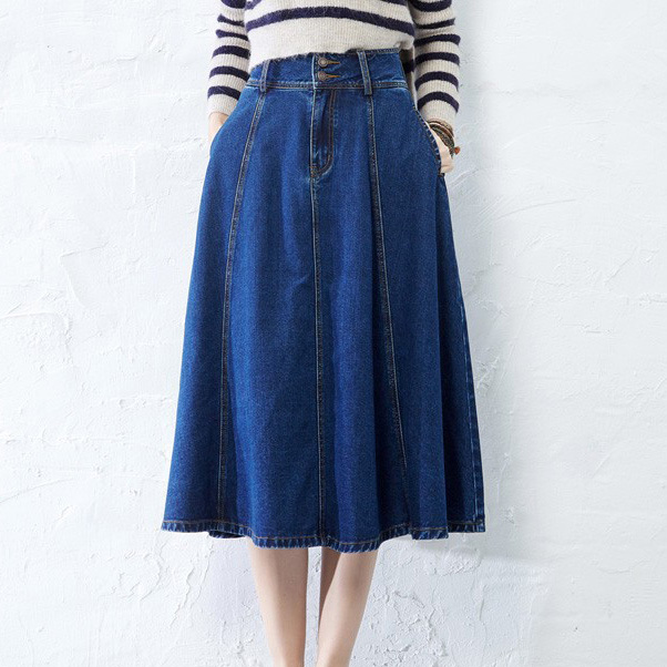 Cheap Modest Denim Skirts, find Modest Denim Skirts deals on line ...