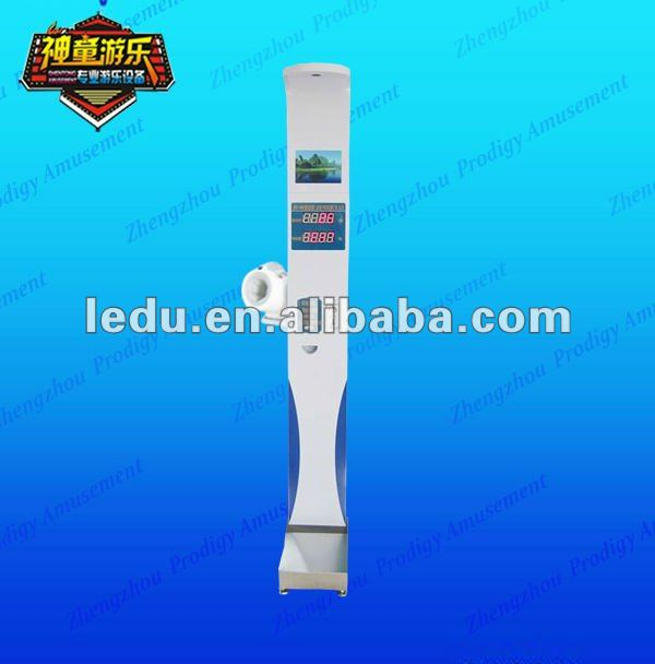 ultrasonic electronic body scale measure height/weight