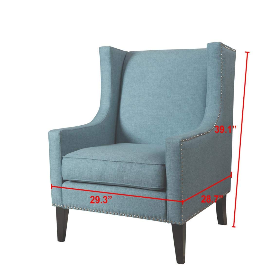 Dreamyth Simple Solid Color Modern Sofa Chair 29.3X28.7X39.6 Inch,American Warehouse Shippment