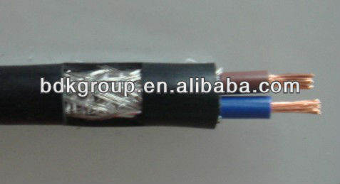 flexible tinned copper braid, electric fence cable,pvc insulation tape