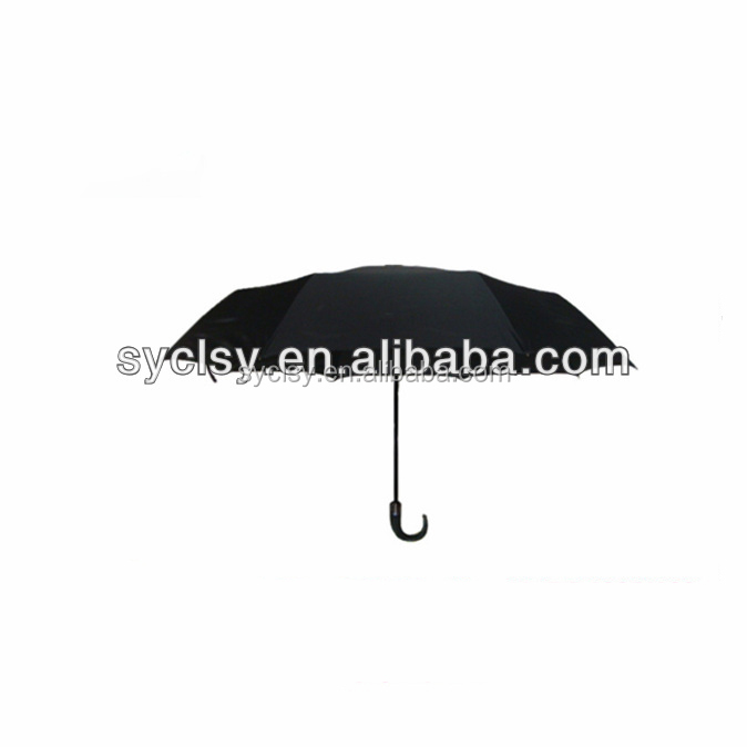 "27""*8K Auto Open And Close Fiberglass Spring 3 Fold Golf Umbrella"