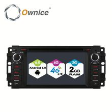 Wholesale Quad core Android 6.0 radio player for Jeep Grand Cherokee 2012 built in wifi 4G LTE support rear camera