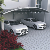 High Quality Car Garage /Aluminum Economical Carports Canopy With Polycarbonate Roof For Sale
