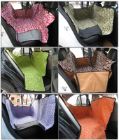 Pet Seat Cover Oxford Waterproof Pet Car Seat Covers Double Seats Wholesale Pet Products Dog Accessories
