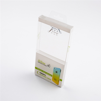 Custom Plastic Cell Phone Case Retail Packaging Box/Printed Folding Clear Plastic Mobile Phone Case Packaging Box