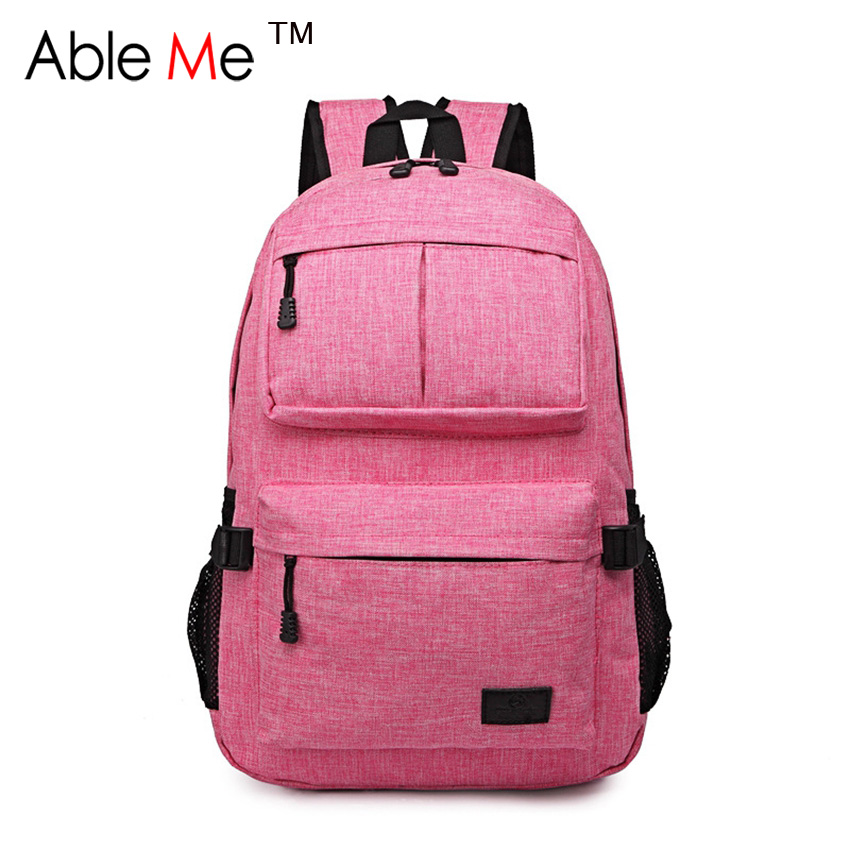 Casual Style Kids School Bag Multi-Pocket Children Canvas Backpack For College Student Leisure Child School Bag Mochila Escolar