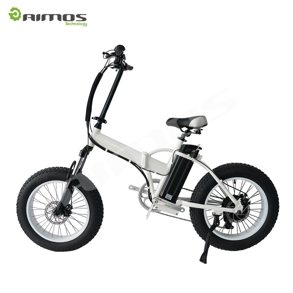 20 Portable Folding Electric Bike Off Road Mountain Fat Tire