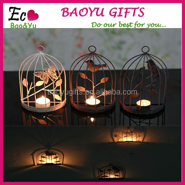 Popular European style candlestick Iron art candle holder, windshield candlestick, wedding celebration products home decoration