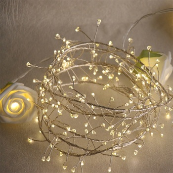 Best Selling Warm White Led Starry Lights Firecracker Led Copper Wire Lights