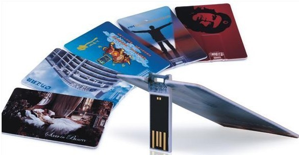 Credit Card, Business Card, Visiting Card Shape USB Pen Drive