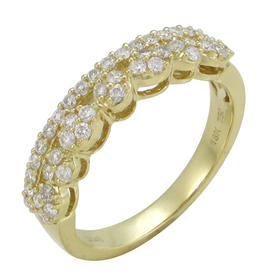 Popular wholesale jewelry 18k solid gold natural diamond for Cheap gold jewelry near me
