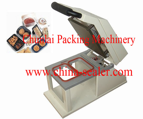 food tray heat sealing machine