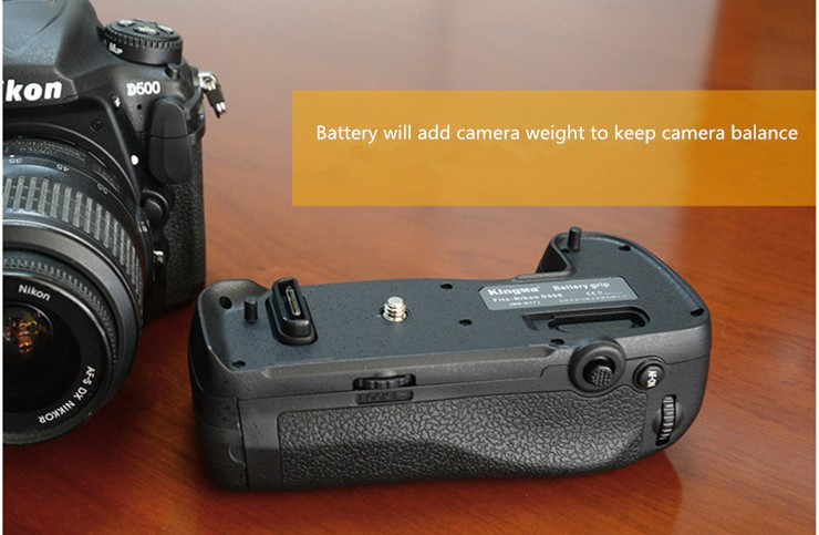 MB-D51 DSLR Camera Battery grip cho Nikon D5100 5200 5300 máy ảnh DSLR