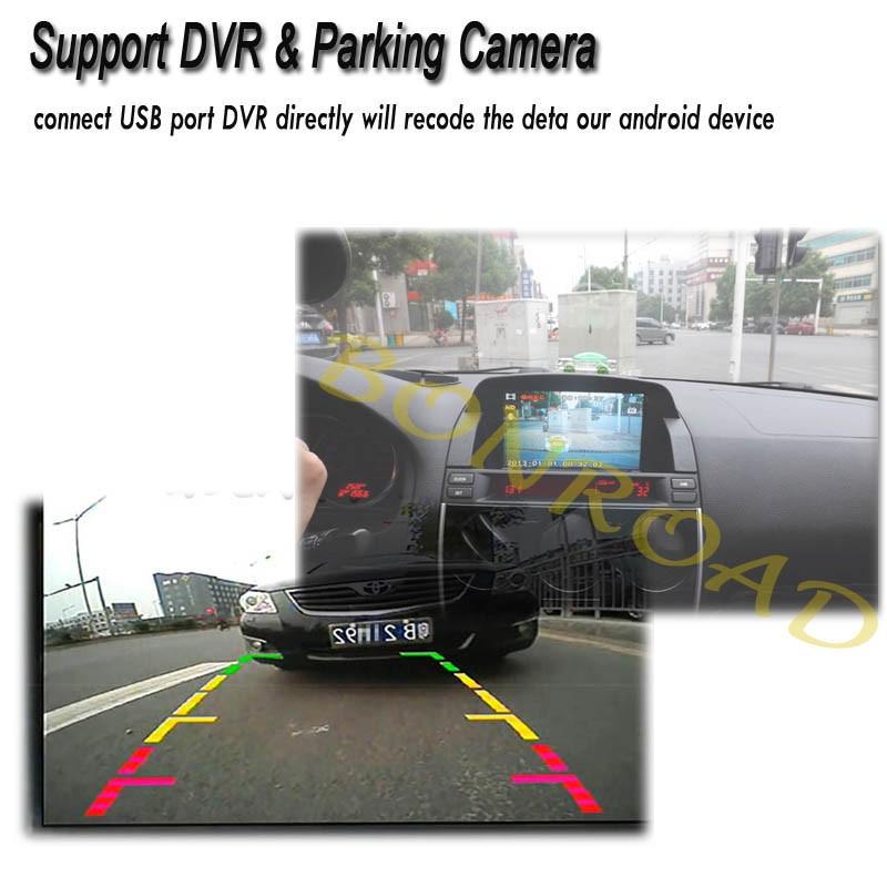 support dvr parking camera