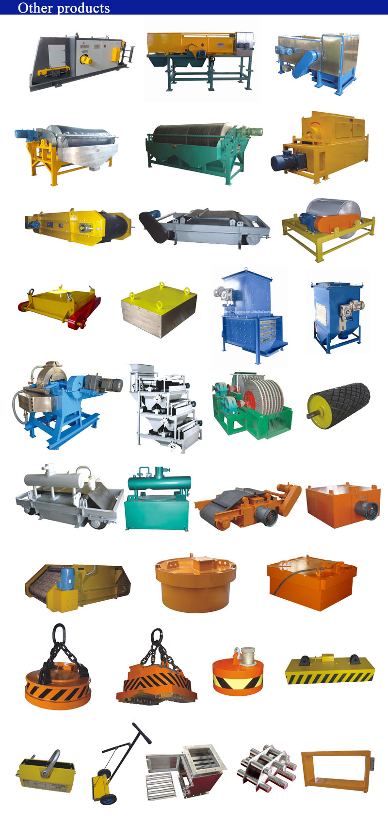 Magnetic's resource recovery equipment for valuable metals from crushed city waste