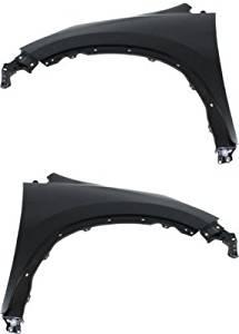 Evan-Fischer EVA1690809140983 CAPA Fender Set of 2 Front Driver and Passenger Side Steel Primered