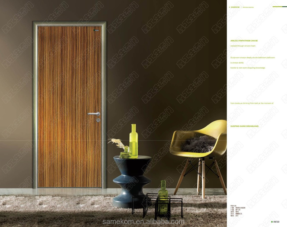 Modern Aluminium Hotel Doors for Interior Bedrooms Made In China