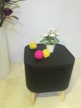 New arrival goods pp material ottoman with storage for sale