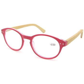 93b6db4168 Red Round Frame Wood Bamboo Reading Glasses - Buy Round ...
