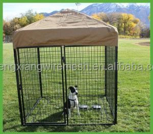 high quality cheap price anping china large outdoor dog cage kennel house singapore hot sale