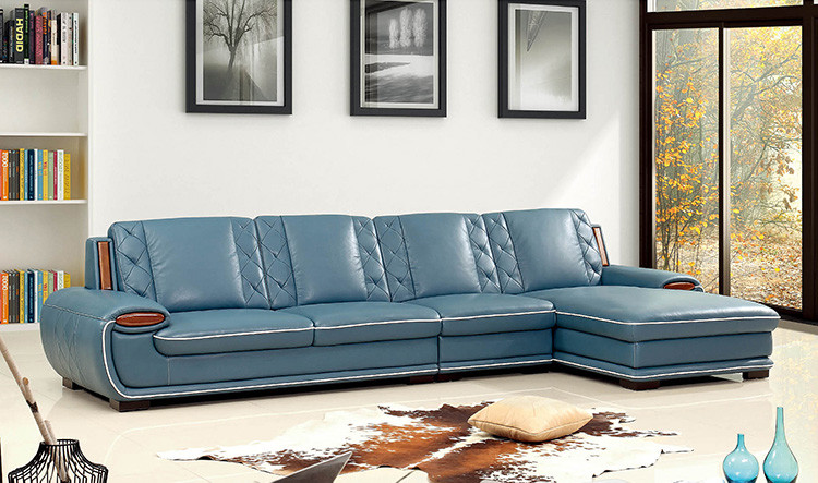 2016 leisure sectional baseball top grain cheap genuine Baseball sofa